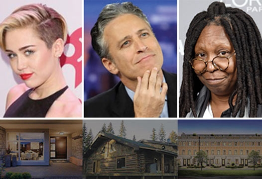 We've picked out some new celebrity homes, in case Trump wins