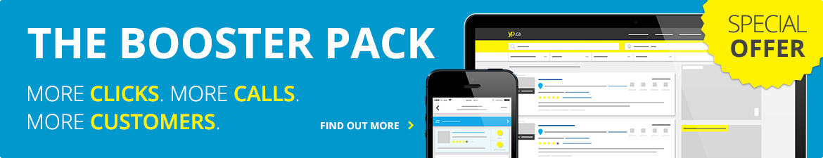 The Booster Pack - More clicks. More calls. More customers. Find out more
