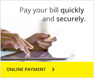 Pay your bill quickly and securely.