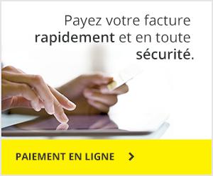 Payez votre facture rapidement et en toute sécurité.